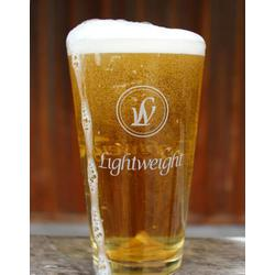 LW BEER GLASS