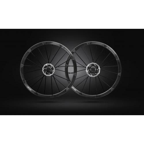 WHEEL SET WEGWEISER CLINCHER DISC BLK SHIMANO FW20 RW20